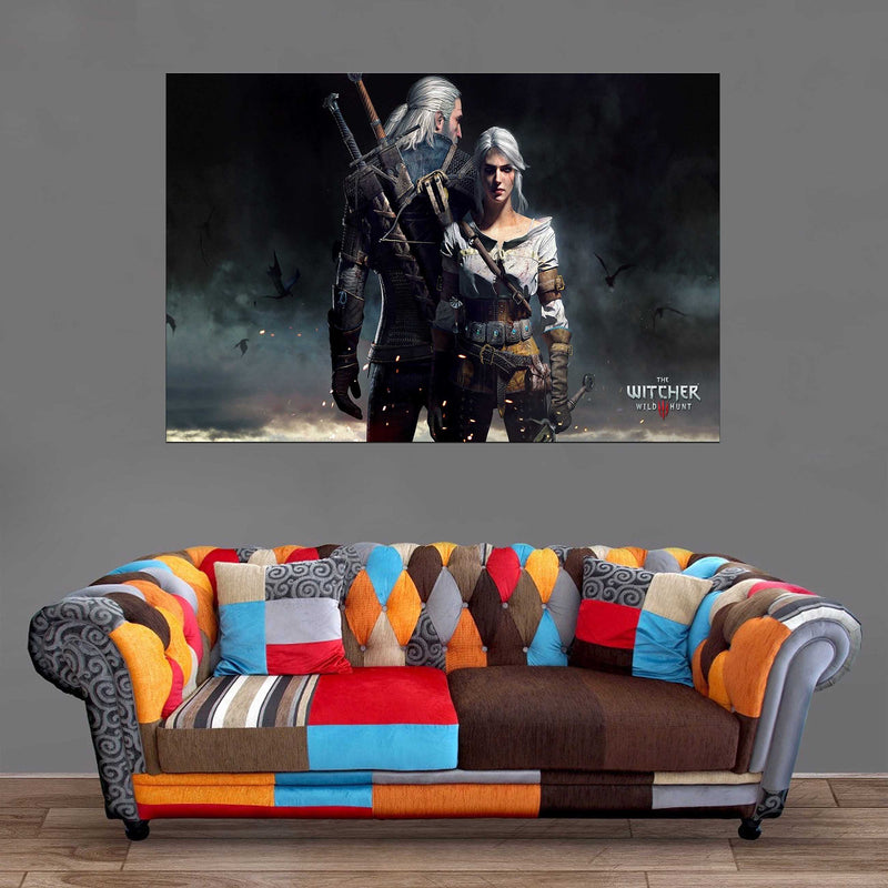 Décoration Murale The Witcher Geralt X Ciri-Monde Déco
