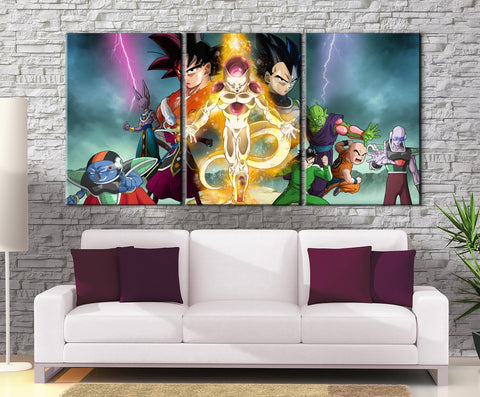 Décoration Murale Dragon Ball Super Retour de Freeza