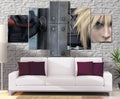 Décoration murale Final Fantasy 7 Cloud Strife-Monde Déco