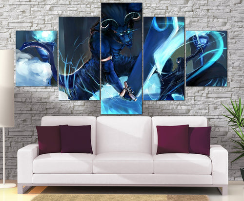Décoration Murale Sword Art Online Kirito Vs Blue eyed Demon-Monde Déco