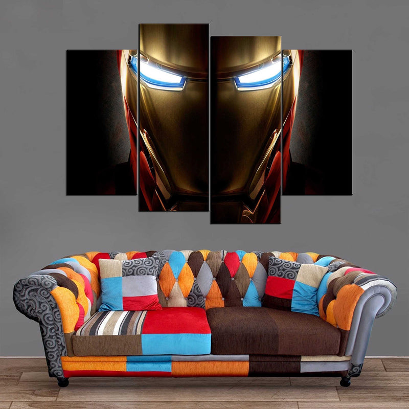 Décoration Murale Avengers Iron Man Face-Monde Déco