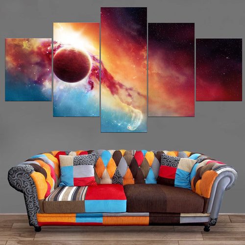 Décoration Murale Space Sunset-Monde Déco