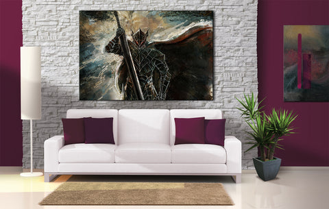 Décoration Murale Berserk Guts Beast Painting