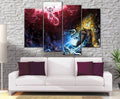 Décoration Murale Dragon Ball Z Goku Vs Freeza-Monde Déco
