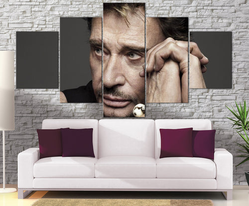 Décoration Murale Johnny Halliday Légende