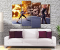 Décoration Murale Dragon Ball Z Vegeta Vs C18-Monde Déco