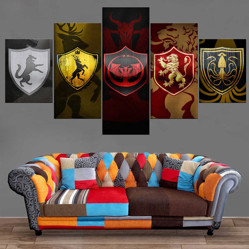 Décoration Murale Games Of Thrones Maisons-Monde Déco
