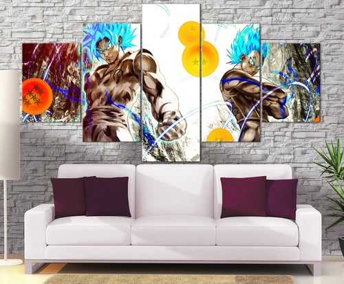 Décoration Murale Dragon Ball Super Goku X Vegeta-Monde Déco