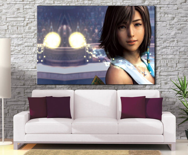 Décoration murale Final Fantasy 10 Yuna-Monde Déco