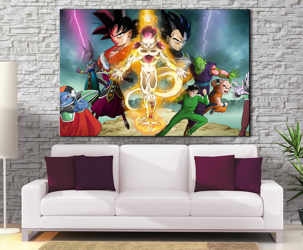 Décoration Murale Dragon Ball Super Retour de Freeza-Monde Déco
