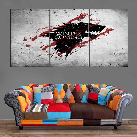 Décoration Murale Games Of Thrones Winter is Coming
