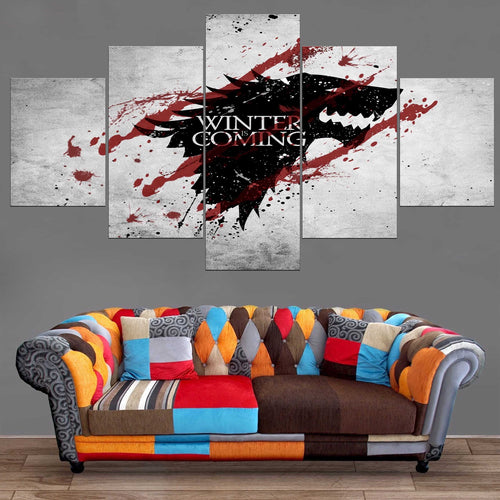 Décoration Murale Games Of Thrones Winter is Coming-Monde Déco