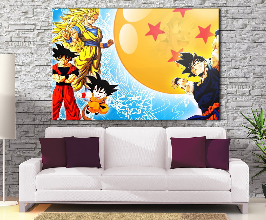 Décoration Murale Dragon Ball Z Goku Genkidama-Monde Déco