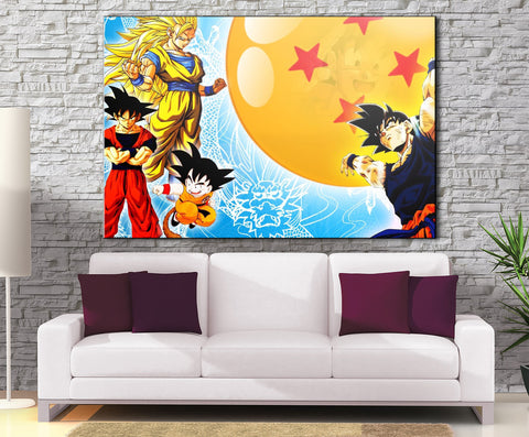 Décoration Murale Dragon Ball Z Goku Genkidama