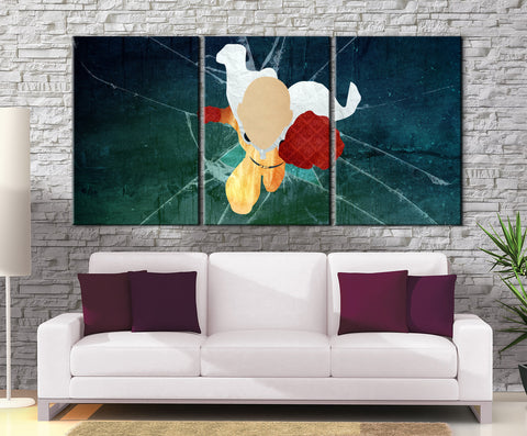 Décoration Murale One Punch Man Saitama Punch
