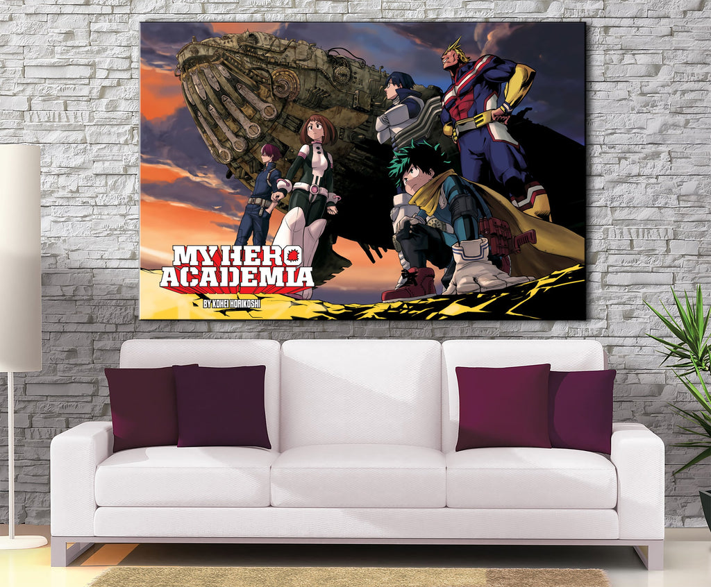 Décoration murale My Hero Academia