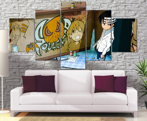Décoration Murale Soul Eater Death The Kid
