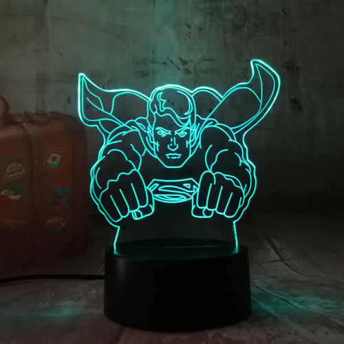 Lampe Led Superman