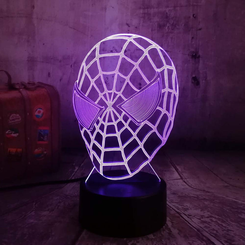 Lampe Led Spiderman