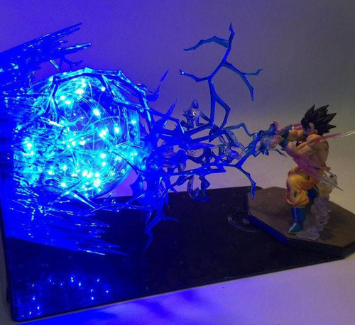 Lampe Drafon Ball Z Goku & Vegeta Final Attack