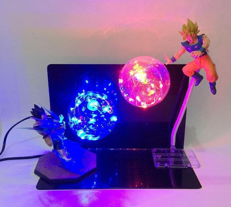 Lampe Dragon Ball Z Goku Vs Vegeta
