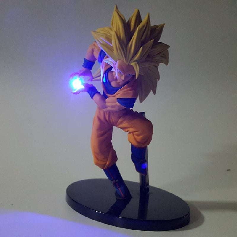 Lampe Led Dragon Ball Z Goku SSJ3