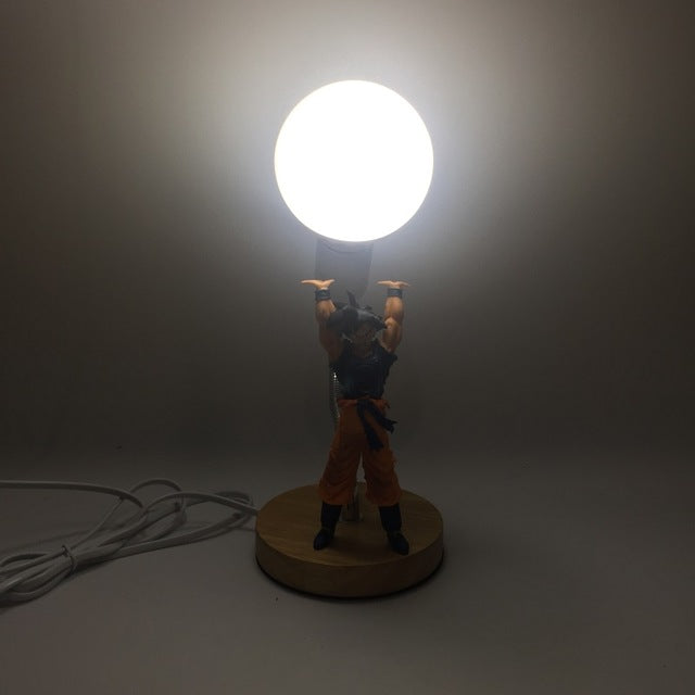 Lampe Dragon Ball Goku Genkidama en 4 couleurs