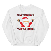 Load image into Gallery viewer, Leave the Presents, Take the Cannoli Sweatshirt