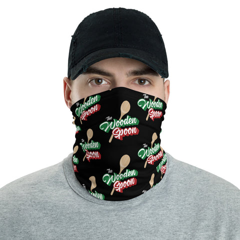 Wooden Spoon Neck Gaiter Black