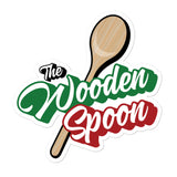 Wooden Spoon Logo Bubble-free stickers