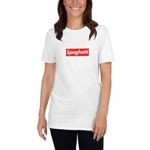 White Spaghetti Sale Shirts!