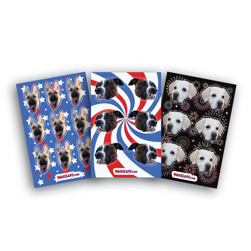 Patriotic Standard Stickers