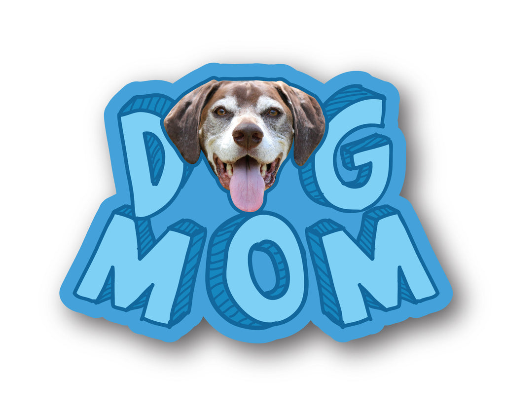 Dog Mom Bumper Decal