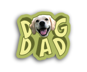 Dog Dad Bumper Decal