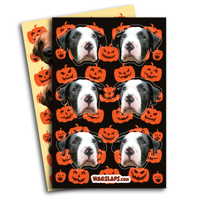 Pumpkin Stickers