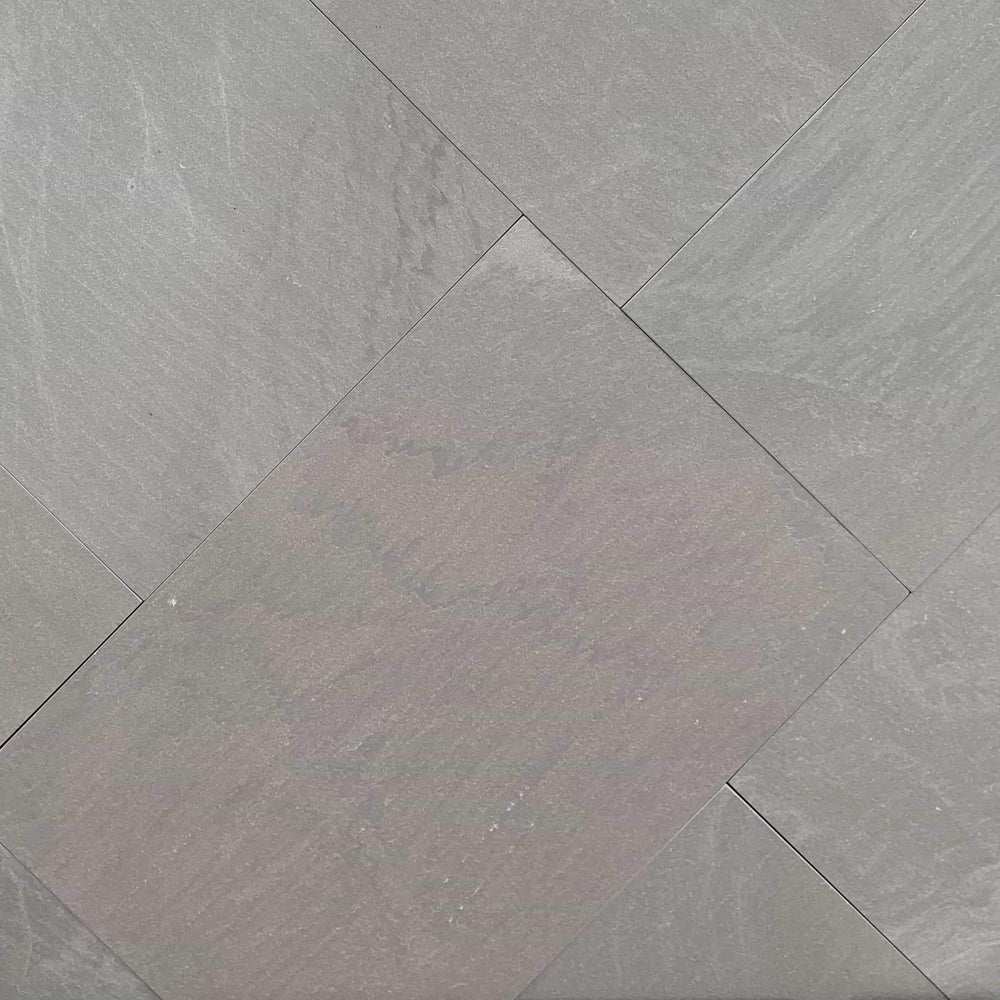 Abalone Grey Square Cut Flagstone