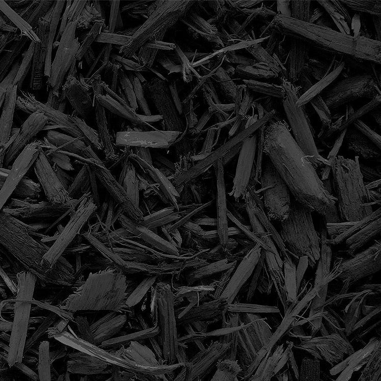 Black Wood Chips