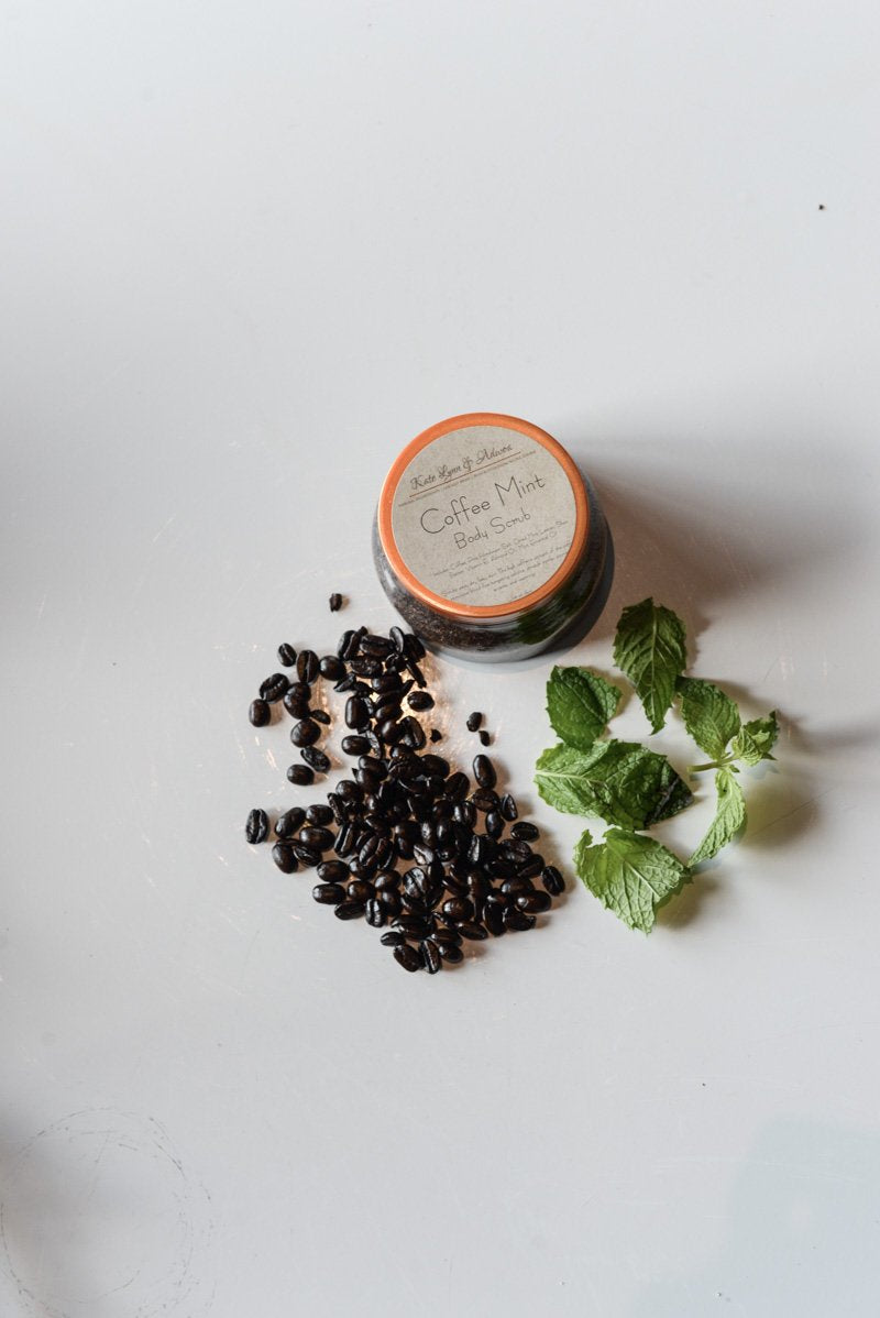 Kate Lynn & Adwoa Coffe Mint Body Scrub