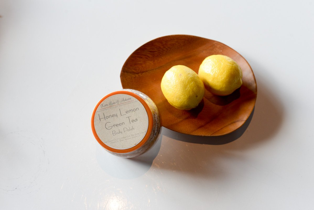 Kate Lynn & Adwoa Lemon Honey Green Tea Body Polish