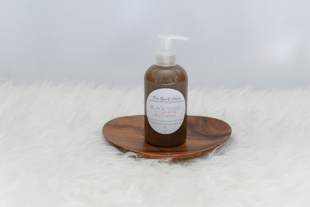 Kate Lynn & Adwoa Black Soap With Shea Butter Body Wash