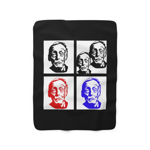 Albert Fish - 1 Fish 2 Fish - Sherpa Fleece Blanket
