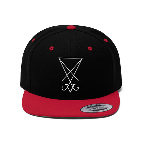 Sigil of Lucifer Flat Bill Hat