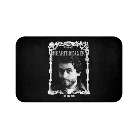 Ted Bundy Heartbreaker - Bath Mat