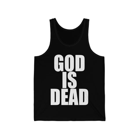 God Is Dead Jersey Tank - lefthandcraft