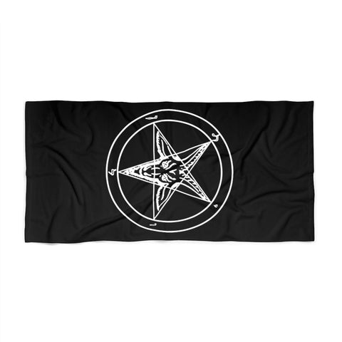 Sigil of Baphomet Classic Beach Towel