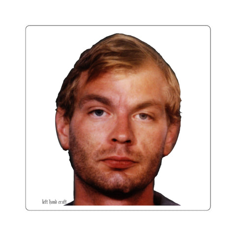Jeffrey Dahmer Square Stickers