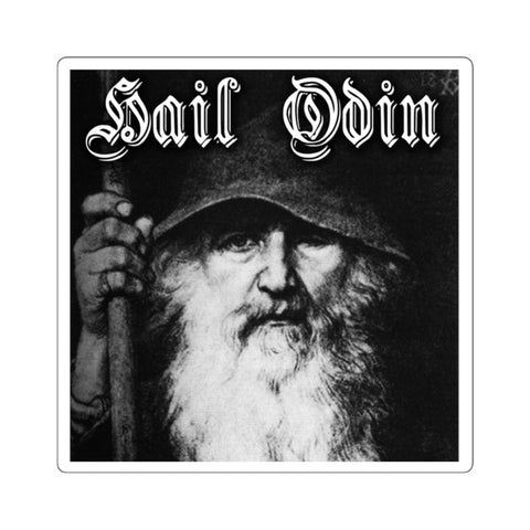 Hail Odin Square Stickers