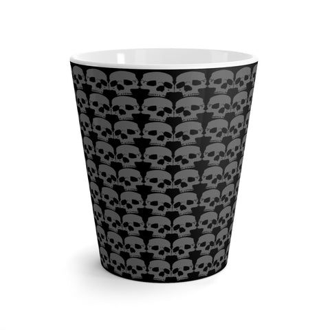 Skulls Latte mug - lefthandcraft
