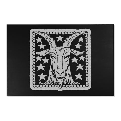 The Goat - Chenille Area Rugs