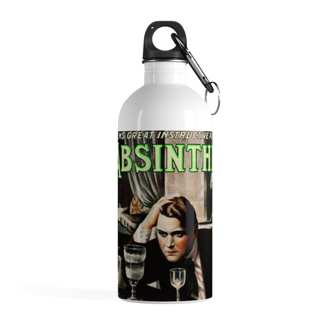 Absinthe Stainless Steel Water Bottle - lefthandcraft